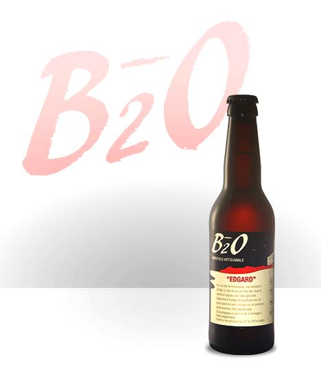 Birra ambrata Edgard 33 cl
