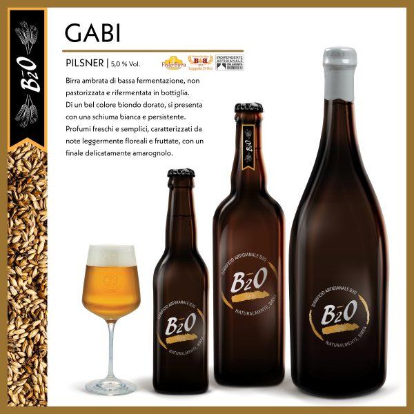 Birra ambrata Gabi