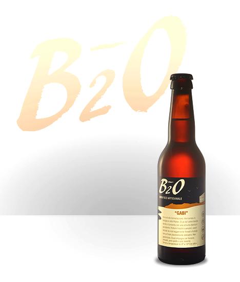 Birra ambrata Gabi 33 cl