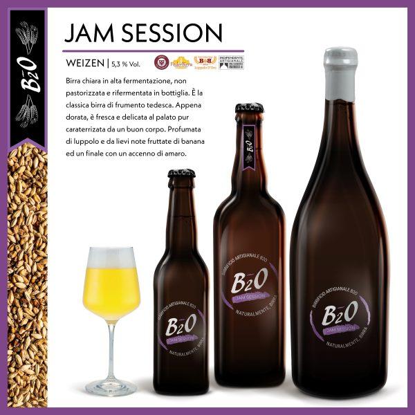 Birra chiara Jam Session