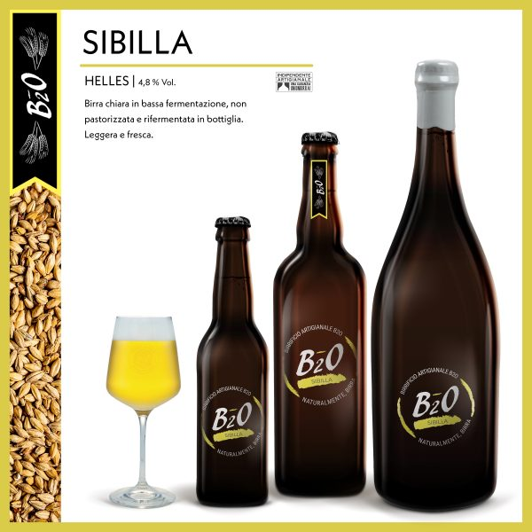 Birra chiara Sibilla