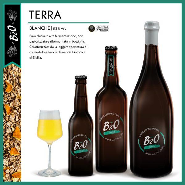Birra chiara Terra