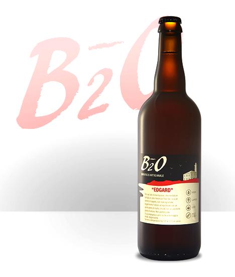 Birra Ambrata Edgard 75 cl