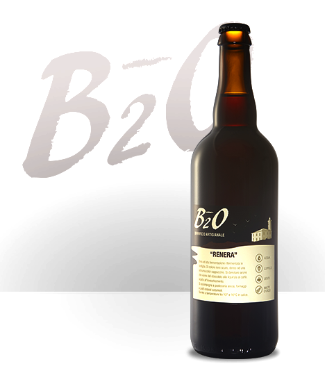 Birra scura Renera 75 cl