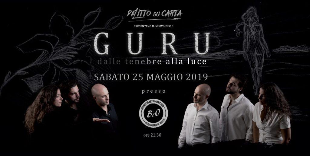 Delitto su Carta nuovo album Guru